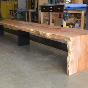 Cascade maple Bench
