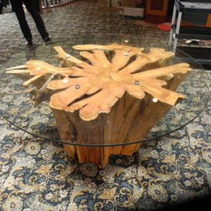 Custom funky chunk stump tables