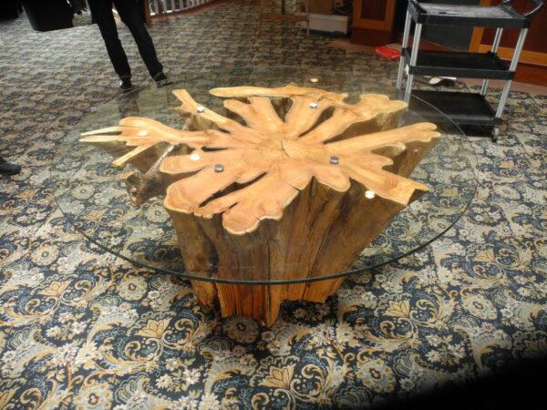 Custom funky chunk stump tables