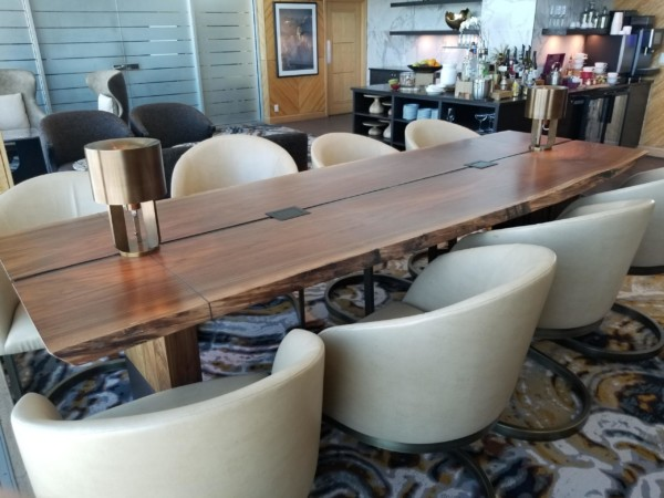 private dining room table, library table