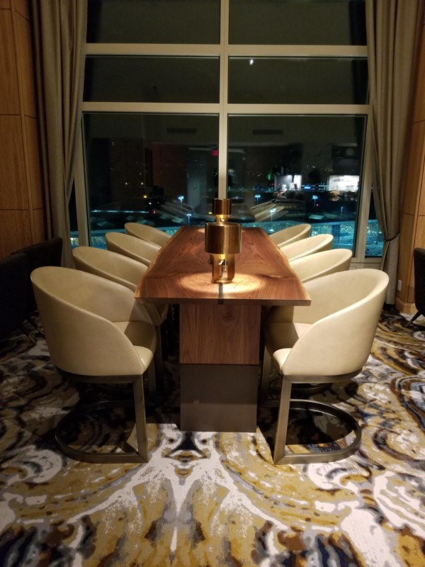 private dining room table