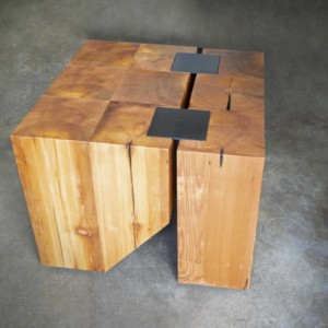 stump coffee table