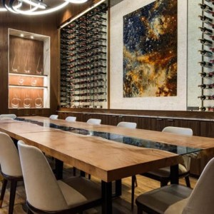 live edge design contract custom furniture dining table for hospitality edmonton