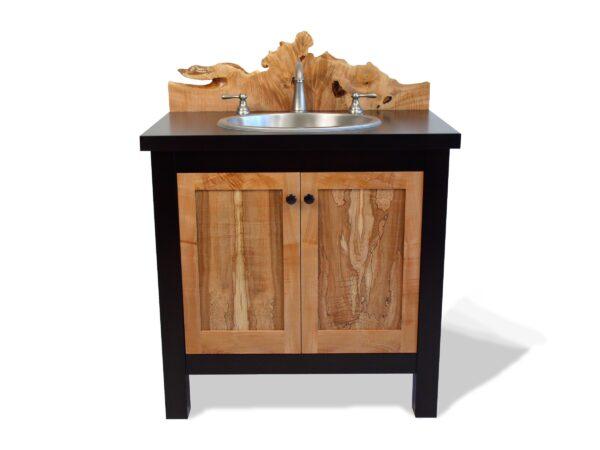 custom pedestal vanity