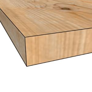 Straight Edge Maple